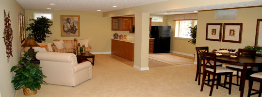 Finished basement ideas low ceiling for Quality basement