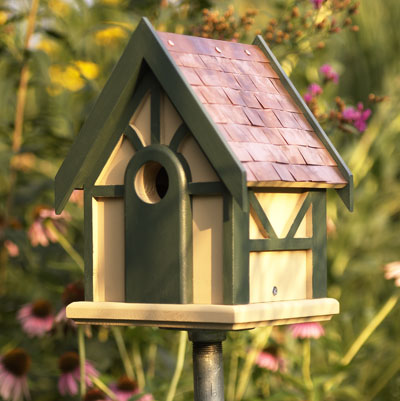 Nichoir on pinterest bird houses birdhouses and cute birds for Easy birdhouse ideas