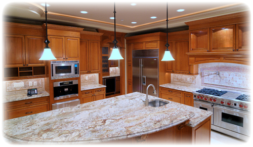 Countertops and Cabinets - build and remodel with QualityProfessional.