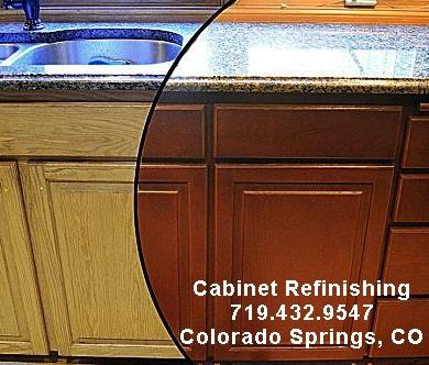 Cabinet Refinishing in Colorado Springs, Colorado