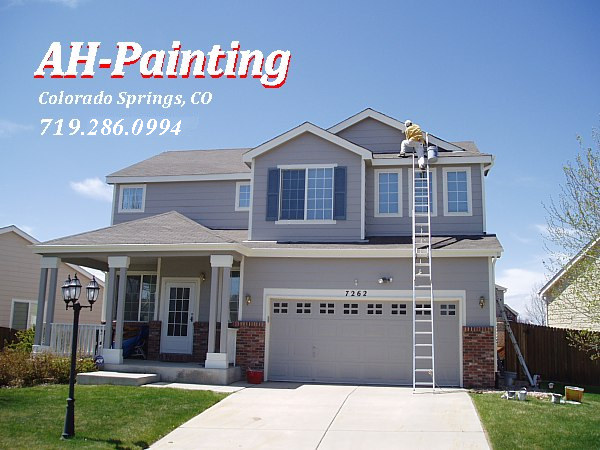 Ah painting top quality exterior house painting in colorado springs - Exterior house painting colorado springs decor ...
