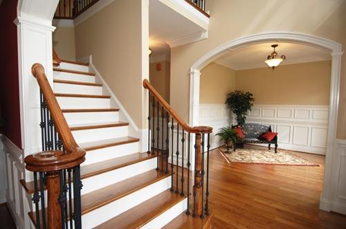 Historische Tapeten Restaurierung : Interior Wood Stairs Designs