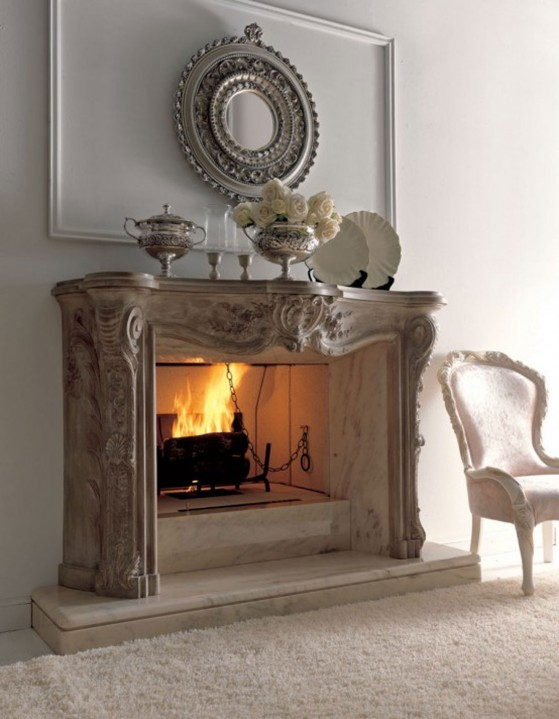 Simple Fireplace Decorating Ideas